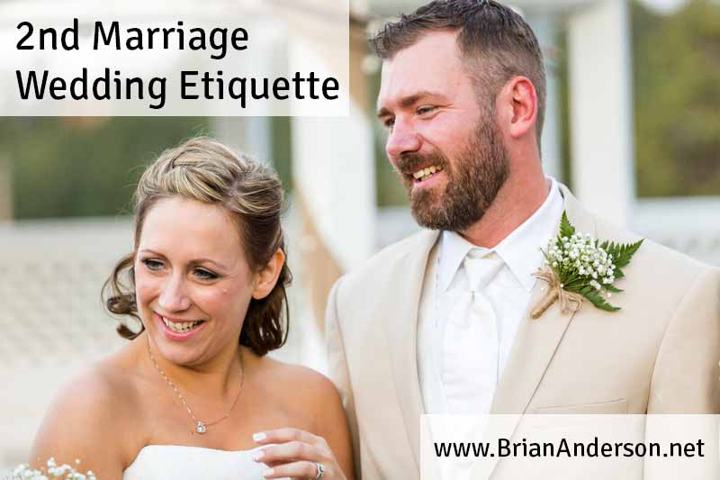 Wedding Gifts For Second Marriages Etiquette: Second Marriage Wedding Etiquette