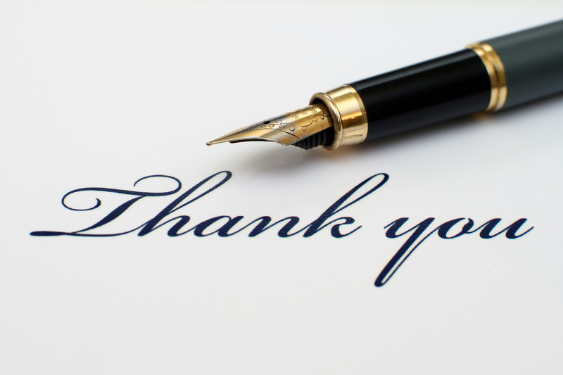 Thank-you note etiquette never changes, even with our growing menu of communication options. Here are guidelines for proper thank-you note etiquette.