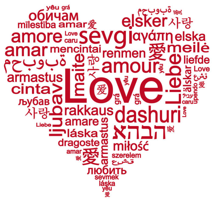 language of love